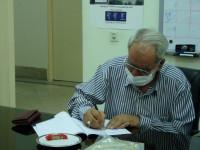 ساخت مدرسه دوکلاسه زنده یاد عصمت کیان طاهری