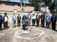 آغاز عملیات ساخت مدرسه  شهید محرمی در سرعین