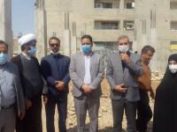 بازدید مدیر عامل جامعه خیرین مدرسه ساز کشور از مدارس خیر ساز در دست احداث خوزستان