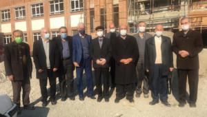 بازدید رئیس جامعه خیرین مدرسه ساز کشور  از مجتمع دکتر نصیری  منطقه 10 تهران