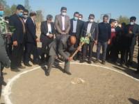 آغاز عملیات ساخت مدرسه 6 کلاسه خیر ساز حاج قاسم رمضانی در روستای دهنو شهرستان یزد