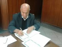 امضاء تفاهم نامه ساخت مدرسه  شش کلاسه در فشافویه