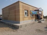 ساخت مدرسه دو کلاسه در سراوان