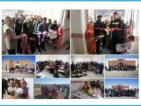 افتتاح 2مدرسه اهدائی بنیاد قلم چی در 2روستای خراسان جنوبی