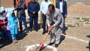 ساخت مدرسه 12 کلاسه خیر ساز در شاوور شوش آغاز شد