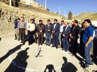 آغاز ساخت مدرسه ای 6 کلاسه در یکی از روستاهای استان کردستان