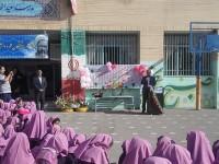جشنواره خیّرین مدرسه ساز در محل مدرسه زنده یاد سعید انصاری