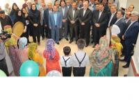 افتتاح مدرسه امام حسن عسگری روستای هیو در سومین روز از هفته دولت