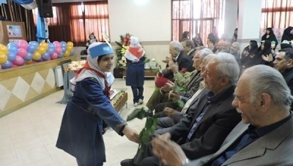 جشنواره تکریم در مدرسه خیری ابوالقاسم پرداختی در منطقه یک برگزار شد