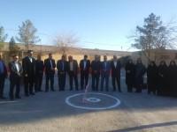 آغاز عملیات ساخت مدرسه خیر ساز حاج حسینی نصب در یزد