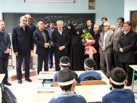 افتتاح مدرسه 20 کلاسه مشارکتی با اعتبار 3 میلیارد تومان در شهرستان ورامین