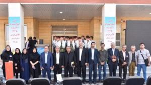 دبیرستان 12کلاسه بنیادقلمچی شهر سیل زده پلدختر افتتاح شد
