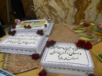 دانش آموزان مدرسه دکتر حافظی در منطقه 10 تهران از رئیس جامعه خیرین مدرسه ساز تقدیر کردند