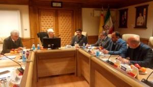 اخرین جلسه هیات مدیره جامعه خیرین مدرسه ساز کشور در سال 97 برگزارشد