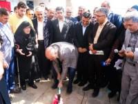 کلنگ پروژه ساخت مدرسه خیرساز در سمنان به زمین زده شد
