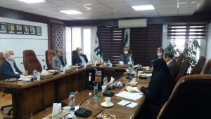 دیدار رئیس جامعه خیرین مدرسه ساز کشور با قائم مقام بانک صادرات