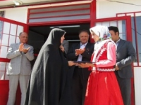 افتتاح مدرسه ۴کلاسه خیّرساز روستای دلی قیز منطقه کندوان میانه