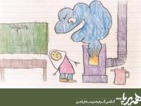 """پوستر ویژه کمپین# همه برپا با شعار  """"کلاس گرم- مدرسه امن"""" رونمایی شد"""
